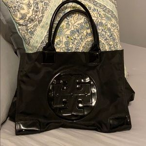 Authentic Tory Burch Ella Nylon Tote